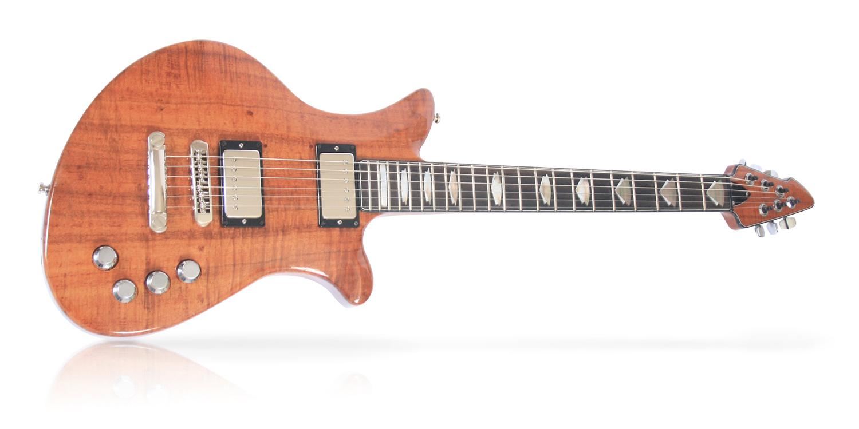 Set Neck custom guitar