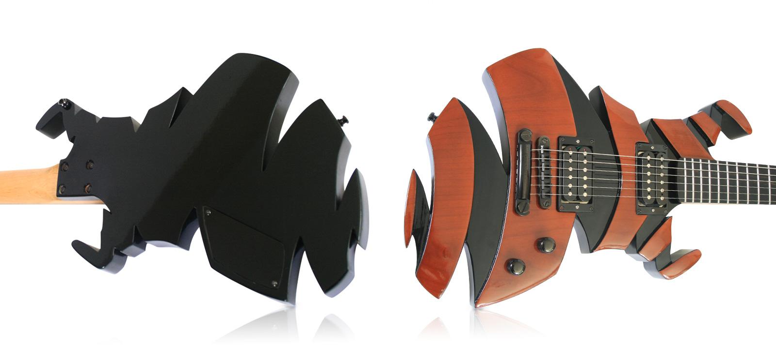 Helix hand made guitar